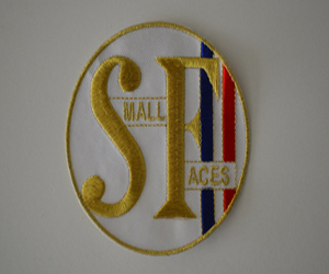small faces badge