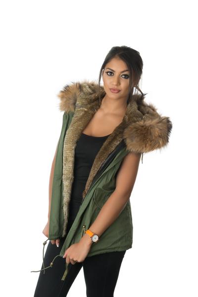Stonetail | Women's Natural Fur Gilet