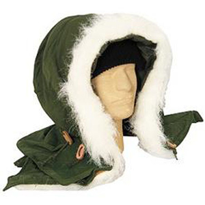 m65 synthetic fur hood