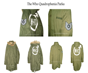 the who quadrophenia parka