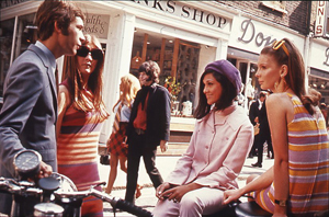 mods on carnaby street in 1969