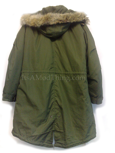The Original M-1951 Fishtail Parka As Worn By Mods In The 1960's