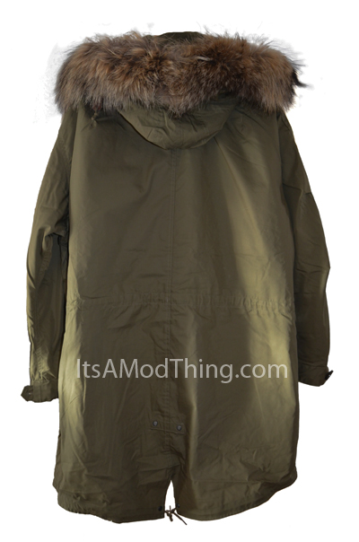 Mod Parka Coats For Womens
