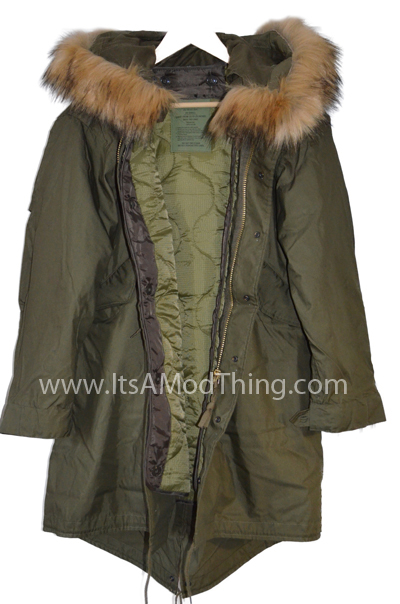 M-1951 Fishtail Parka | Stunning Reproduction Of The M51 ...