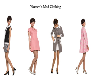 womens mod clothing