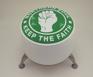 northern soul green stool