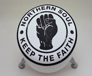 northern soul white sides stool