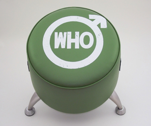 the who footstool