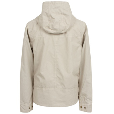 cement hooded cotton jacket