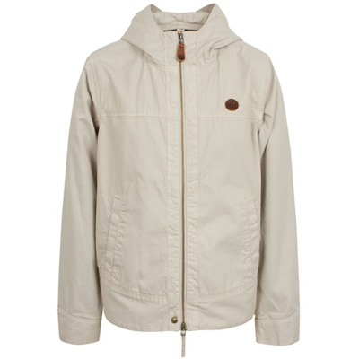 pretty green cement hooded jacket