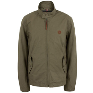 pretty green khaki kingsway harrington jacket