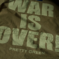 pretty green war is over
