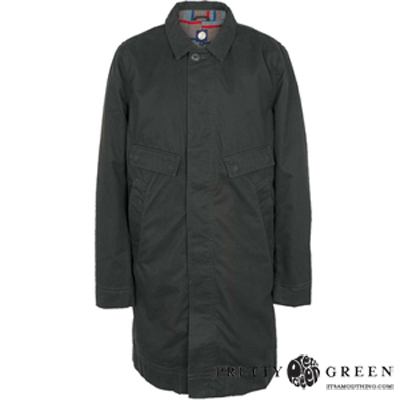 pretty green coat