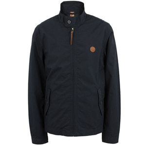 pretty green navy kingsway harrington jacket