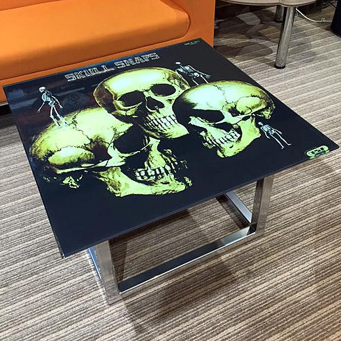 Vinyl Record Coffee And Dining Tables