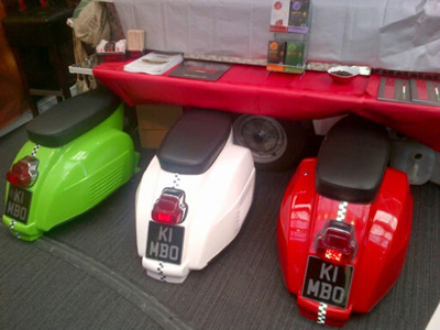 display mod scooter seats
